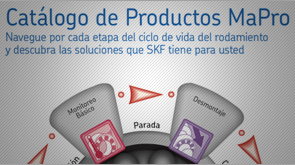 Proyecto SKF: Catalogo virtual de productos Mapro