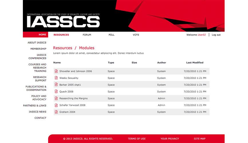 IASSCS4